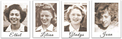 The Sugar Girls Ethel Lilian Gladys Joan