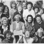 Gladys' Blue Room reunion, 1985 (Miss Smith is at the far left)