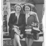 Gladys and Betty on a beano
