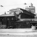 Plaistow Wharf main entrance (1940s)