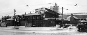 Plaistow Wharf main entrance (1940s)